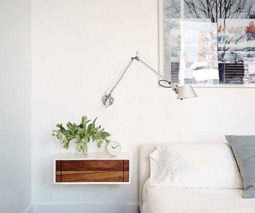 Decoraci n trucos para dormitorios peque os ids estudio - Mesitas de noche para espacios reducidos ...