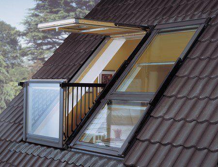 Ventanas que se convierten en balcones
